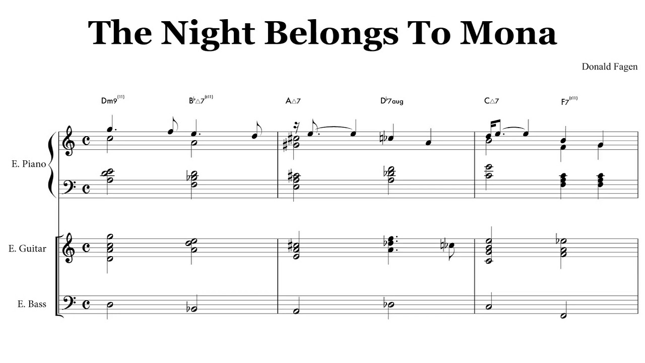 Dm9 guitar chord image collections guitar chords examples the night belongs to mona donald fagen chords youtube the night belongs to mona donald fagen hexwebz Image collections