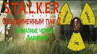 Сталкер ОП 2 Алмазные черепа Лабиринт
