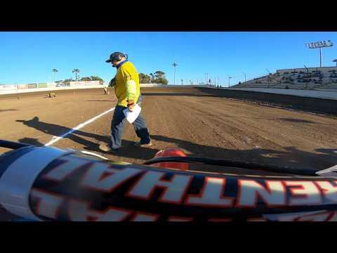 Ventura Raceway Flat Track Andy Ellis Heat 1 100cc