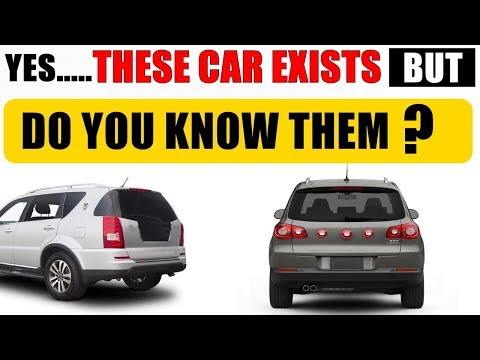 some SUV MPV & pickup trucks that are so rare that you don't even know they exist | ASY