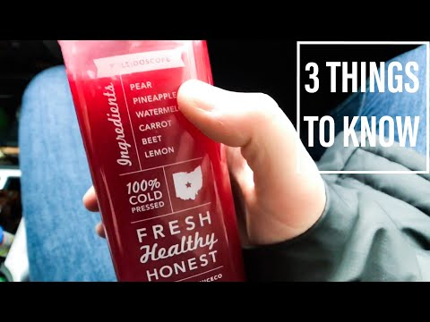 WHAT'S REALLY IN YOUR COLD PRESSED JUICE
