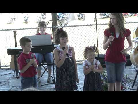 Patriotic Medley sung by the Nelson Kids