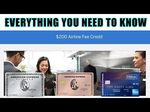 Amex Airline Credit - Everything You Need To Know