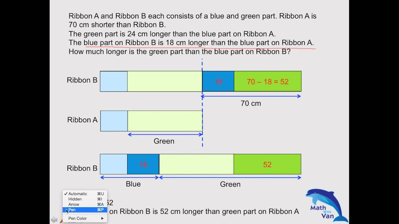 2014 P4 Math Question - Singapore Primary Math - Math with Van - YouTube