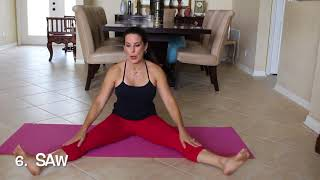 7 Minute Pilates Abs Full Workout with Laura London