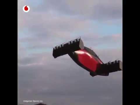 El avión eléctrico unipersonal