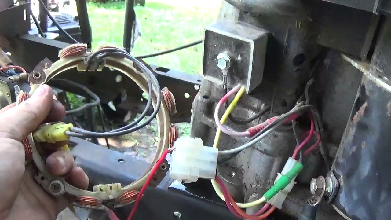 Dorable Wiring For Yard Machine 18hp Opposed Twin Briggs Ensign ...