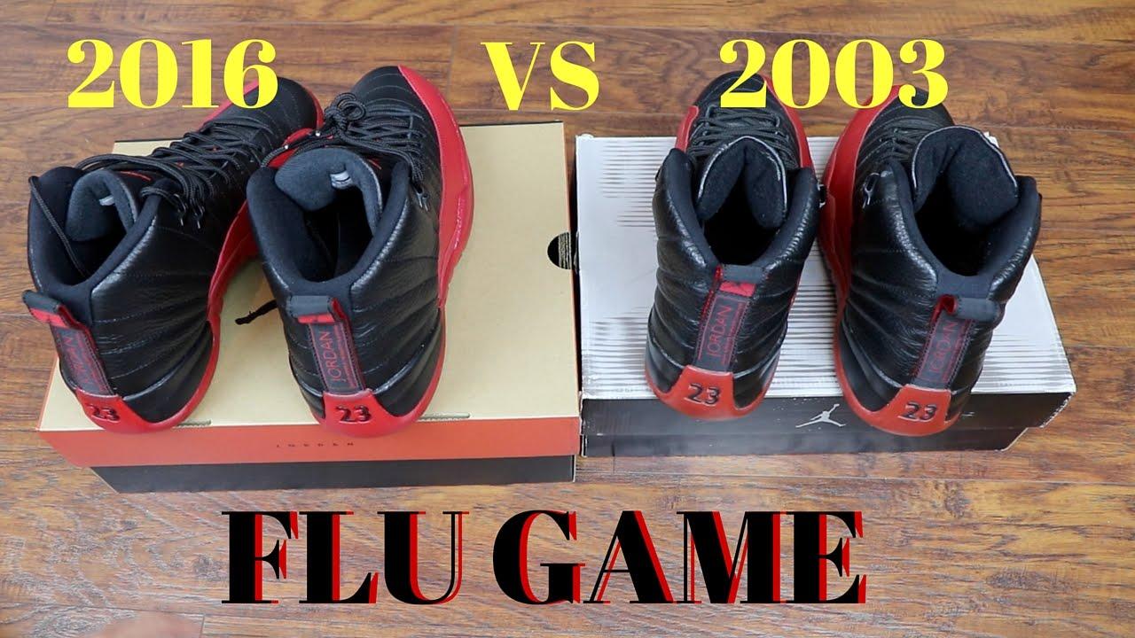 air jordan 12 flu game 2003