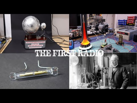 We Rediscover Spark Gap Radio by Accident