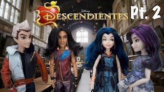Disney Descendientes Muñecas - Episodio 2 Mal Evie Ben Jay Carlos