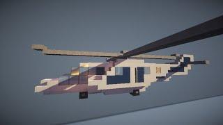 как построить вертолёт в minecraft?(И в этом видео мы будем строить красивый вертолёт в майнкрафте., 2015-02-18T18:24:20.000Z)