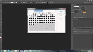 Как добавить фигуру щиты для фотошопа кс 6 от ДЖЕЙКА ;3