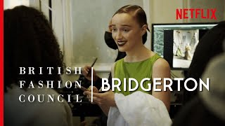 Bridgerton - Behind the Scenes of the British Fashion Council Photo Shoot