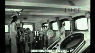 Viaggio inaugurale: cinecronaca della traversata atlantica della turbonave