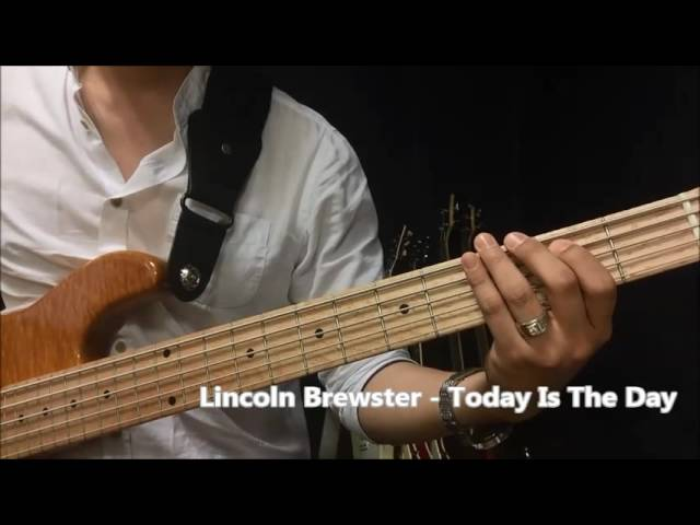 lincoln-brewster-today-is-the-day-bass-cover-holy-papa
