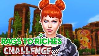 0$ İLE SOKAKTA YAŞAM !!! ECO LIFESTYLE CHALLENGE #1 Sims 4 Türkçe