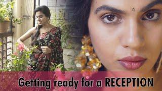 Getting ready for a reception|GRWM|SRAVANA BHARGAVI