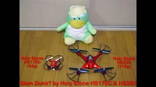 Slam Dunk? by Holy Stone HS170C & HS200 thumbnail