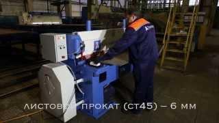 Гильотинные ножницы по металлу НГМ-6,3(АО «Кубаньжелдормаш» проектирует, изготавливает и производит гильотинные ножницы НГМ-6,3 (аналогичные моде..., 2015-12-01T08:54:00.000Z)