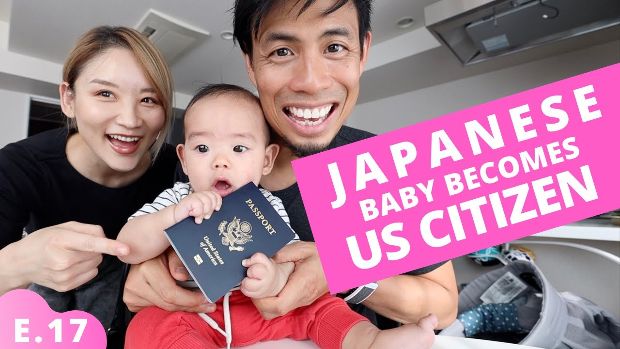 Japanese Baby gets US Citizenship in Tokyo Ep.17