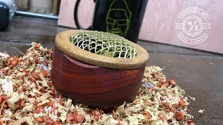 Woodturning - a box of music for my mum