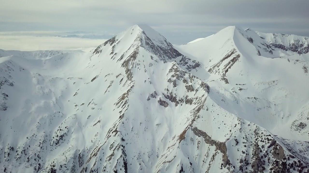 Страхотни кадри от Банско! Вижте как изглеждат величествените върхове над това градче!