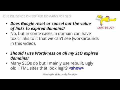Want To Buy An Expired Domain & NOT Get Screwed  Watch This Video HD