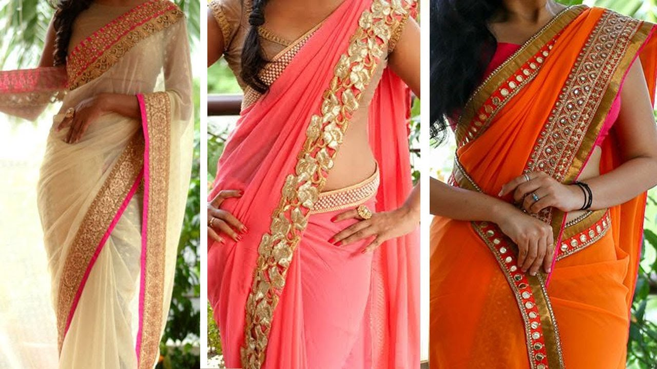 Fashion style How to saree wear perfectly pleats for lady