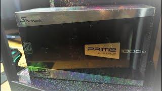 Seasonic Prime 1000W Power supply for OC Sli Unboxing