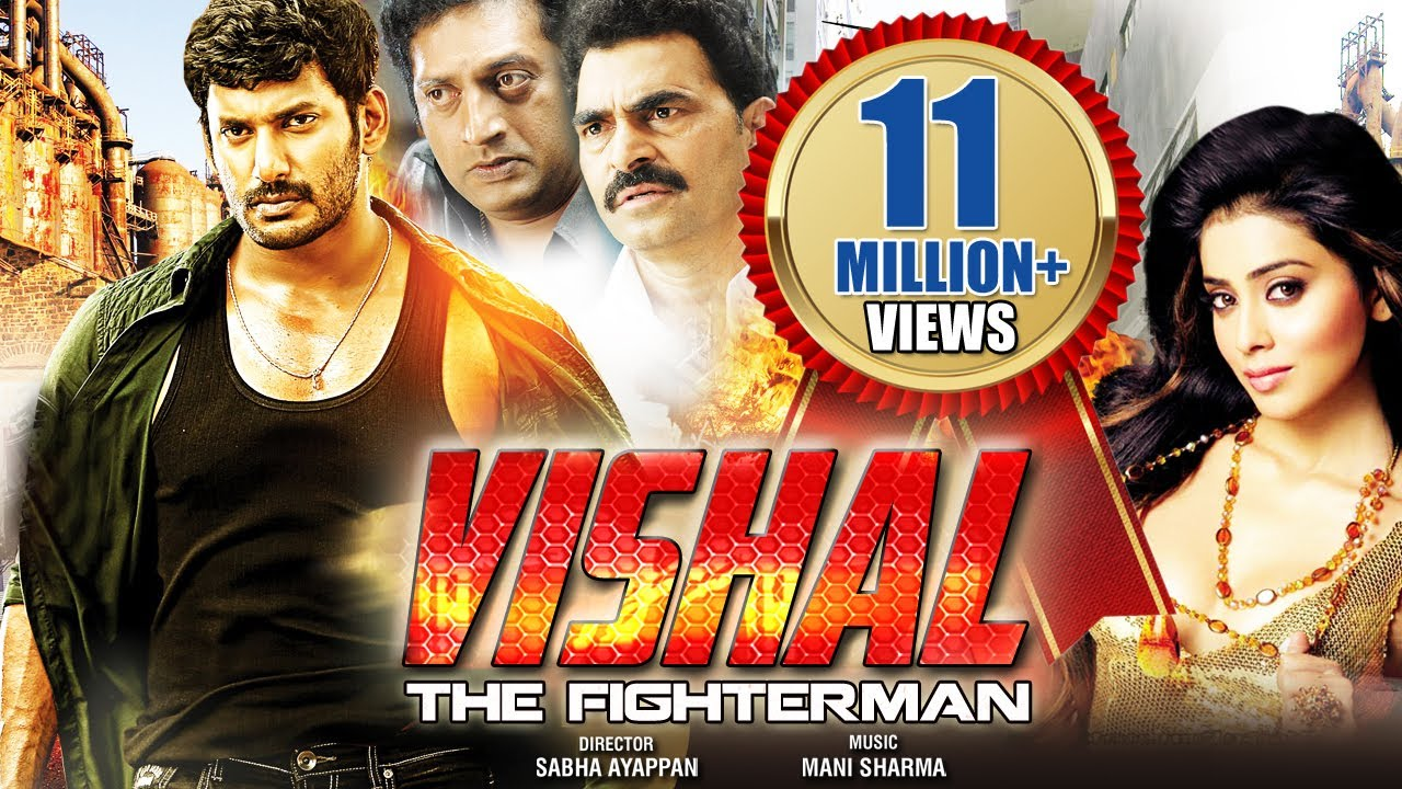 Download Vishal - The Fighter Man (2015) - Vishal, Shriya Saran | Dubbed Hindi Movies 2015 Full Movie
