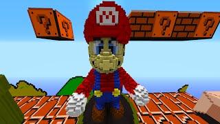 Minecraft Snapshot: EPIC MARIO BOSS BATTLE! - w/Preston, Woofless & Lachlan!