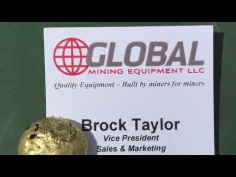 Global Mining Equipment Cyanide/Mercury Free Fine Gold Recovery System