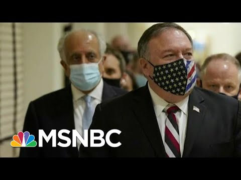 Pompeo Invites Over 900 Guests To Holiday Party, But Many Skip   Morning Joe   MSNBC