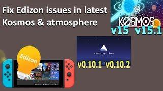 Switch tutorial - Fix Edizon issues: No joycon input, applet mode problems,  Kosmos or Atmosphere