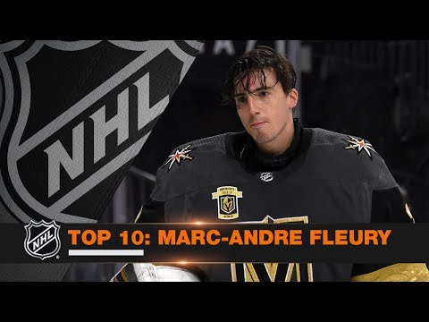 Top 10 Marc-Andre Fleury saves from 2017-18