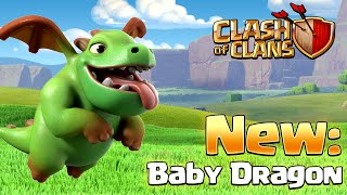 Clash of Clans - NEW BABY DRAGON TROOP! (New Update)
