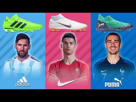 Best Players And Their Boots At World Cup 2018