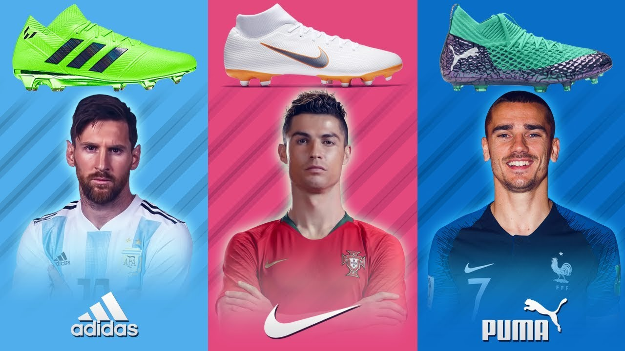 599f8c3ba Best Players And Their Boots At World Cup 2018 - YouTube