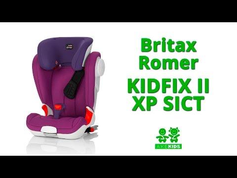 Автокресло 2-3 Britax Romer Kidfix II XP Sict