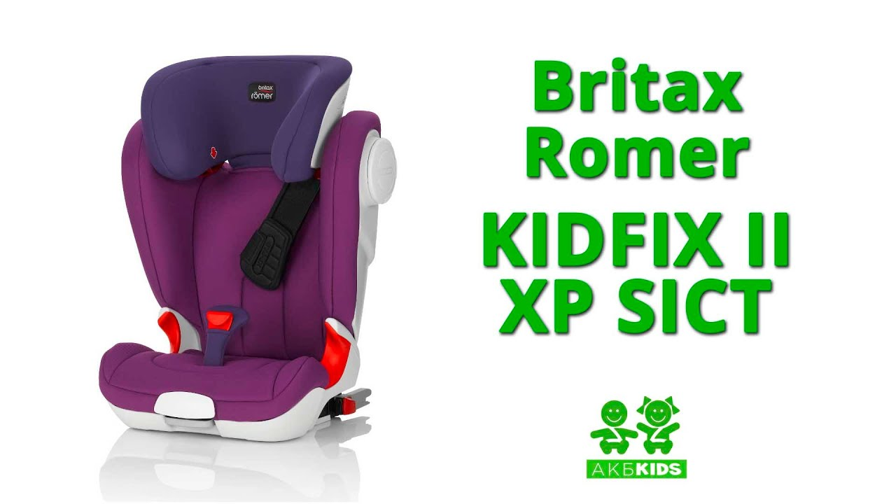 2 3 15 36 britax roemer kidfix xp sict storm grey 2000025693. Black Bedroom Furniture Sets. Home Design Ideas