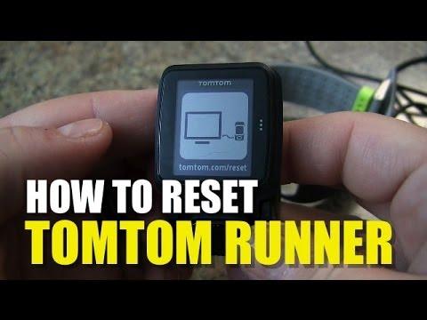 Tomtom Runner How To Reset Youtube