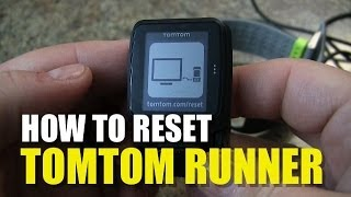 Repeat youtube video TomTom Runner - How to Reset