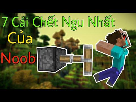 hướng dẫn chơi minecraft pe - 7 Cái Chết Ngu Ngốc Nhất Của Noob - Minecraft PE