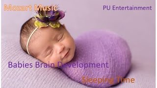 Mozart Music For Newborn Baby Brain Development - Lullaby Songs For Babies Sleep - Night time