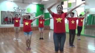 """Bài nhảy mẫu """"Khát Vọng Biển Đông"""""""