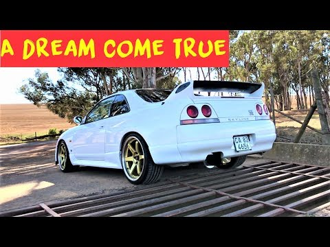 Nissan Skyline R33 GTR is everything I imagined!