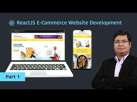 ReactJS Tutorial | Part 1 |  E Commerce Website Development for Beginners [Hindi]