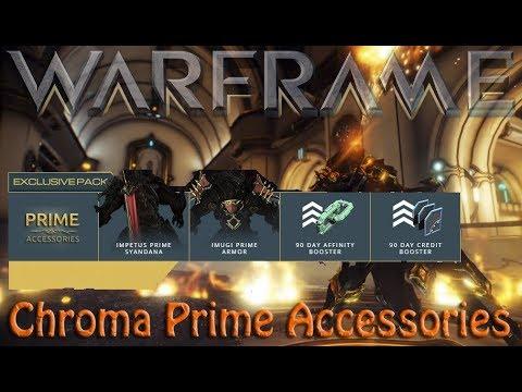 Warframe - Chroma Prime Accessories thumbnail