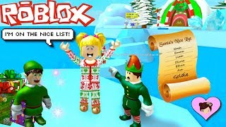 Baby Goldie Escape Santas Workshop! Roblox Christmas Obby - Titi Games
