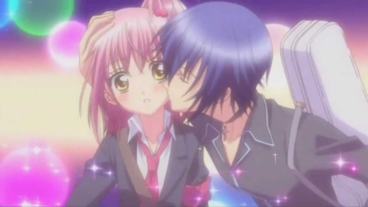 Cute Anime Kiss Scene